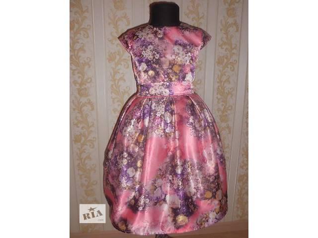 Яркое платье в цветы- объявление о продаже  в Житомире