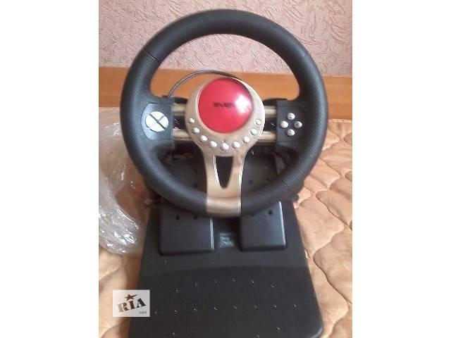 продам Игровой руль для пк бу в Покровске (Красноармейск)