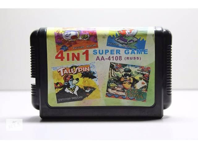 продам Ігровий Картридж Sega Mega Drive (16-bit) 4in1 бу в Одесі