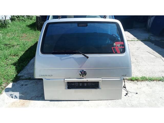бу Задня дверка фольксваген т4 ляда мультиван каравелла volkswagen t4 Б/у дверь задняя для Volkswagen T4 (Transporter) в Яворові