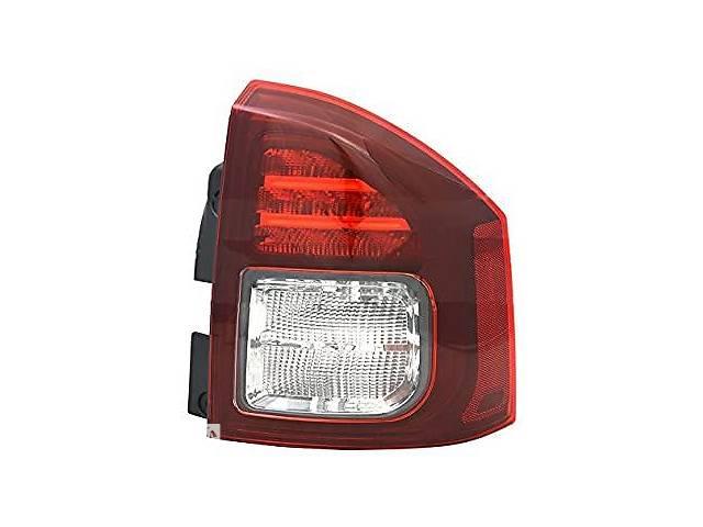 купить бу Задний фонарь Jeep Compass '11-16 правый (FPS) темный + LED в Киеве