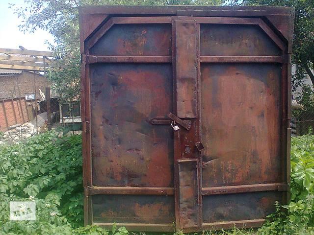 продам Железный контейнер бу в Тернополе