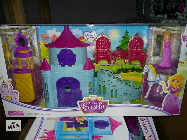 Замок SS012AB принцессы, фигурка 11см, лошадь, мебель, 2 вида, в кор-ке, 53-27-10см- объявление о продаже  в Ровно