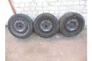 6Jx15 ET45 4x100 DIA 56.6 резина 185/55 R15 Continental, Hifly, Barum