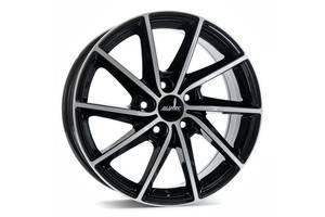 ALUTEC Singa R15 W6 PCD4x108 ET47 DIA63.4 Diamond Black Front Polished