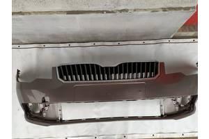 Б/у бампер передний для Skoda SuperB