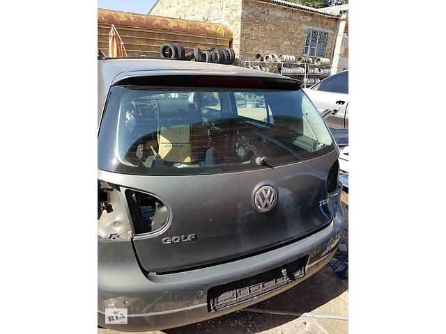 Б/у бампер задний с парктрониками для Volkswagen Golf V 2004г. - объявление о продаже  в Таврийске