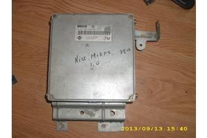 б/у Блоки управления двигателем Nissan Micra
