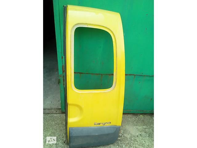 Б/у двери задние для Renault Kangoo- объявление о продаже  в Ивано-Франковске