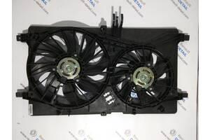 Б/у диффузор для Nissan NV400 2010-2019 два вентилятора