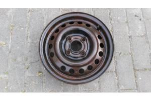 Б/у Диск колёсный стальной, металлический GM. Opel 4,5J x 13. H2 ET49. 4x100. Производитель: Lemmerz. 2130018, OP513001.