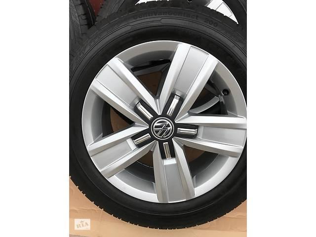 купить бу Диск з шиною для Volkswagen T6 (Transporter) 215 60 R17 в Івано-Франківську