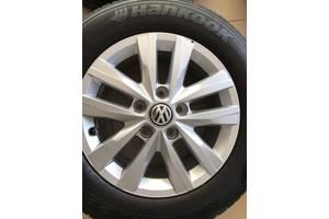 Б/у диск з шиною для Volkswagen T6 (Transporter) 215 65 R16c