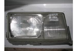 Б/у стекло фары п Mercedes 190 W201, 2018207661, BOSCH 0301067330, 1305235076 [10114]