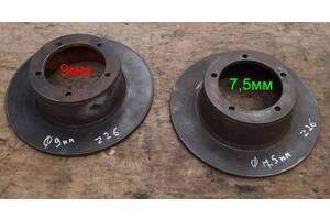 Б/у тормозной диск для Wartburg 353  7,5мм осталась 1 штука