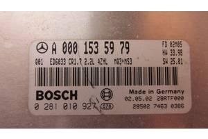 б/у Блоки управления двигателем Mercedes C-Class