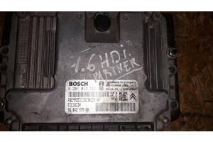 Блок управления двигателем  Peugeot 307 1.6 HDi 2001-2008 9664257580