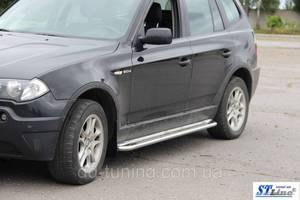 Подножки BMW X3
