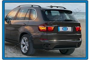 BMW X5 E-70 2007-2013 гг. Кромка багажника (нерж)