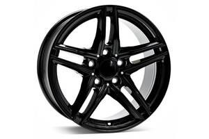 Borbet XR R16 W6.5 PCD5x112 ET22 DIA66.6 Gloss Black