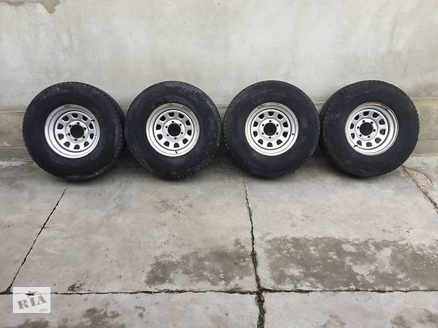 бу Диск з шиною 285/75 R 16 Mitsubishi Pajero Sport в Снятині