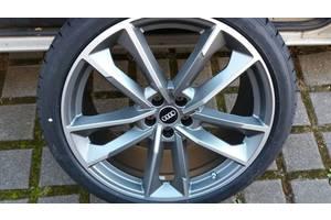 Новые диски с шинами Audi S8