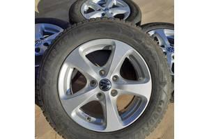 Диски VW R15 5x112 Golf Passat Jetta Caddy T4 Audi A6 A4 Skoda Octavia титани