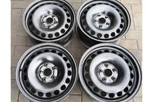 Диски железо Audi Volkswagen R16 5x112 Dia 57.1 Комплект (4 шт.) б.у Состояние-идеальное