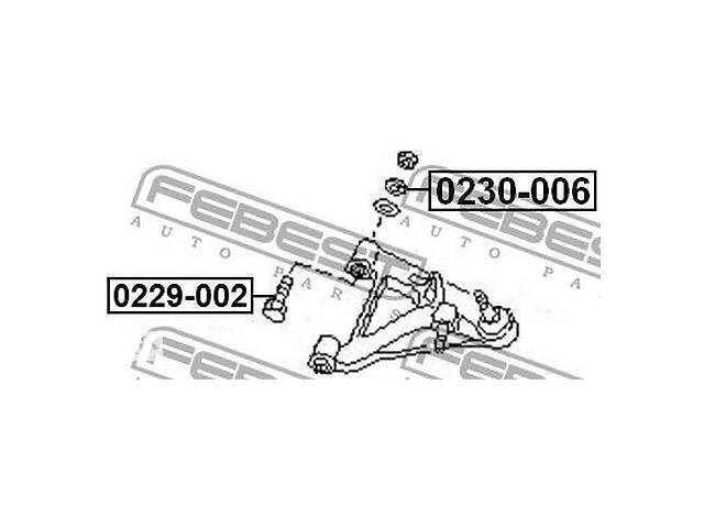 бу Эксцентрик Febest FE 0230-006 в Одессе