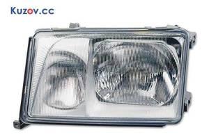 Фара Mercedes E-Class W124 84-89 левая (Depo) темная рамка 1248202661 1248202661