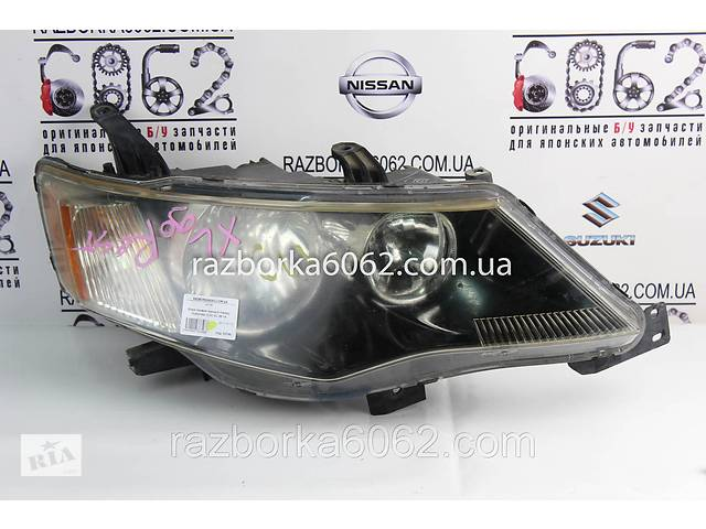продам Фара правая черный глянец Mitsubishi Outlander (CW) XL 06-14 (Мицубиси Оутлендер ХЛ) бу в Києві