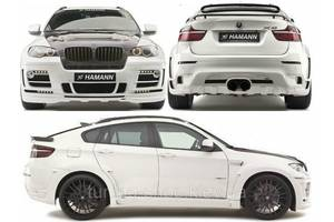 Пороги BMW X6