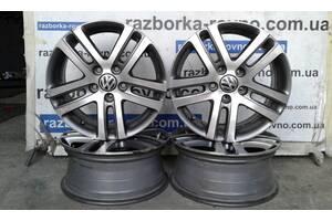 Комплект титановых дисков VW Volkswagen Tiguan, Touareg R16 5x112