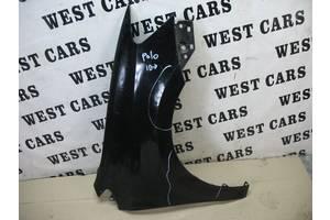 Б/У 2009 - 2014 Polo Крило переднє праве чорне. Вперед за покупками!