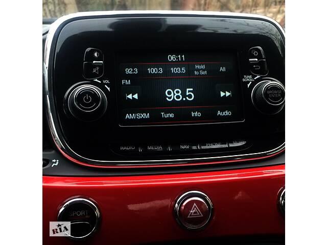 купить бу Магнитола Фиат Fiat 500 Радио Навигация Блютус 2016 в Киеве