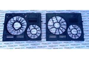Мотор вентилятора радиатора Диффузор Volkswagen Touareg Туарег 2003-2009
