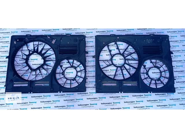 продам Мотор вентилятора радиатора Диффузор Volkswagen Touareg Туарег 2003-2009 бу в Ровно