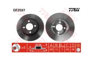 Нові Гальмівні диски Audi 80