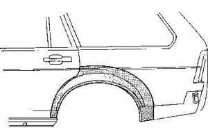 Нові крила задні Volkswagen Passat