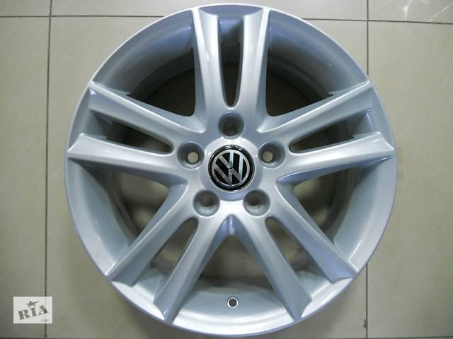 продам Нові оригінальні литі диски R16 5-112 на Volkswagen Passat, Goolf 5-7,Caddy, Jetta, Tiguan бу в Харкові