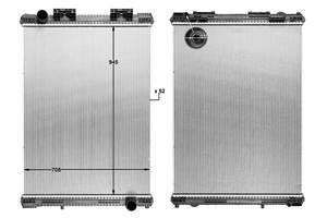 Новые Радиаторы MAN F 2000