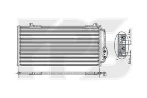 Новые Радиаторы кондиционера Honda Civic