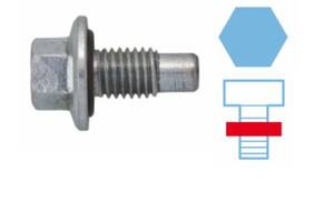 Пробка поддона двигателя OPEL / SAAB / CADILLAC / BUICK / CHEVROLET / CALLAWAY / VAUXHALL