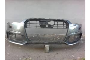 Продается бампер передний б / у для Audi A6 C7 седан (S-Line) 2015, 2016, 2017, 2018
