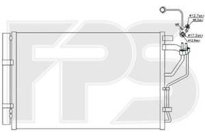 Радиаторы кондиционера Hyundai Elantra