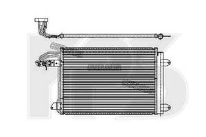 Радиатор кондиционера SEAT ALTEA 04-