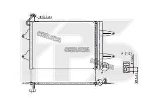 Радиатор для SEAT IBIZA (2009-2012)