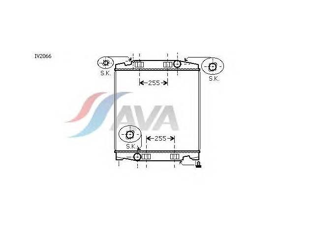 продам Радиатор охлаждения IVECO Stralis (03-) Glyser 132066 бу в Києві