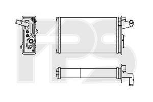 Радиатор отопителя Alfa Romeo 155