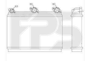 Новые Радиаторы печки BMW 7 Series